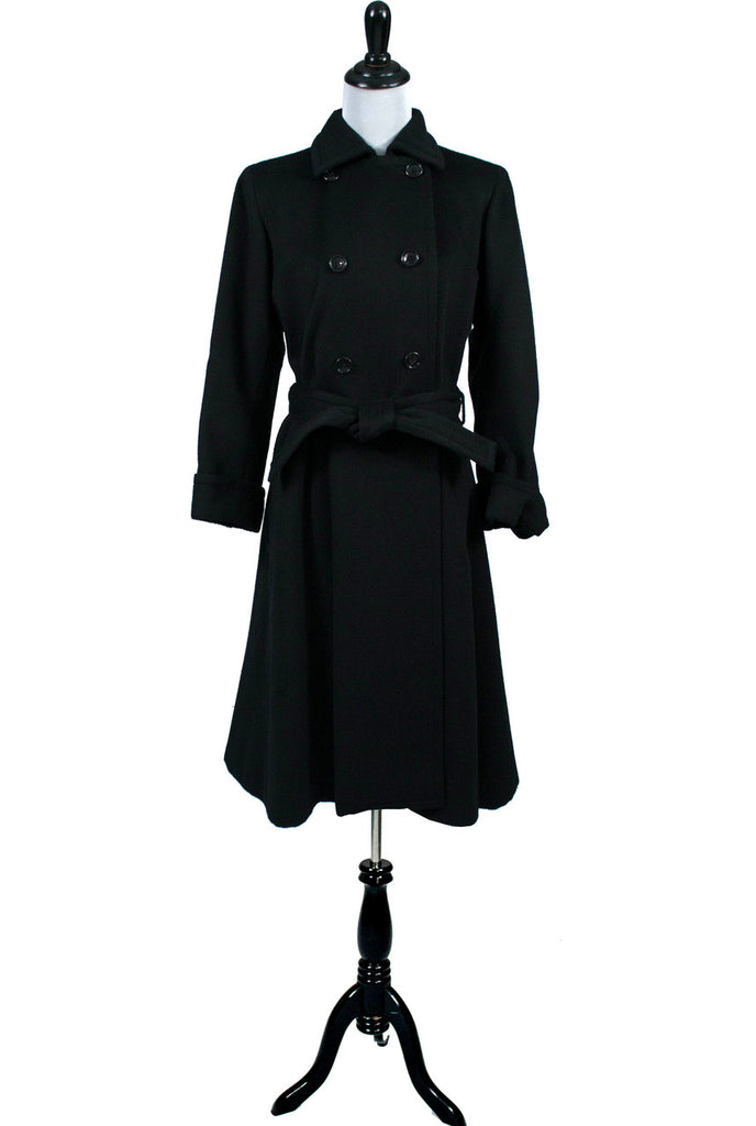 Vintage Trench coat 1970s vintage Yves Saint Laurent Rive Gauche coat and cape
