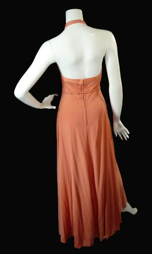 Albert Capraro 1970's vintage designer dress