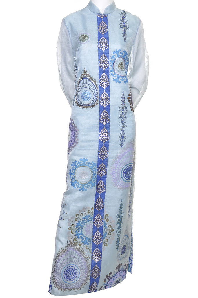 Alfred Shaheen Vintage Caftan Maxi Dress