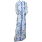 Alfred Shaheen Vintage Caftan Maxi Dress Hawaii