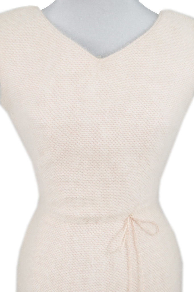 Anne Fogarty Pink Angora Vintage Dress SOLD - Dressing Vintage
