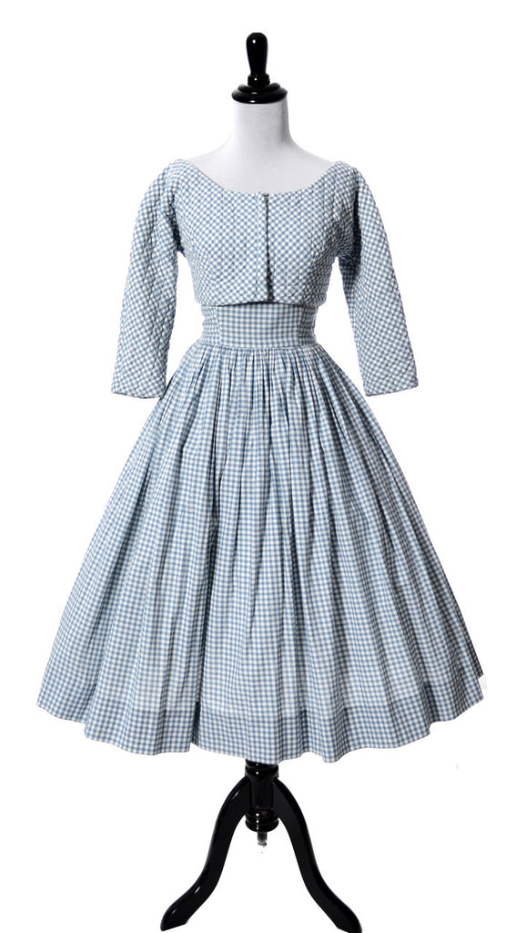 Anne Fogarty vintage 1950s dress and bolero