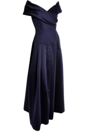 Vintage Victor Costa Dress Evening Gown