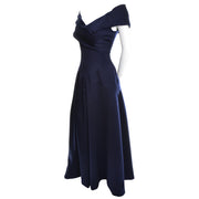 1980s Vintage Victor Costa Dress Evening Gown