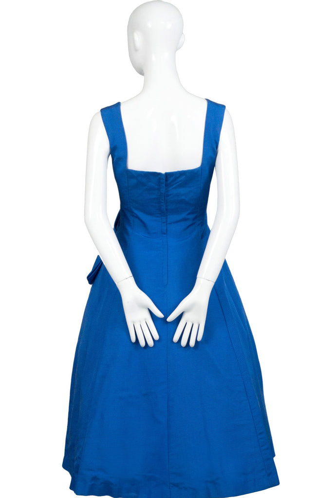 Fabulous Vintage 1950s Blue Party Dress SOLD
