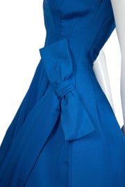 Fabulous Vintage 1950s Blue Party Dress SOLD - Dressing Vintage
