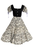 Vintage 1950s dress 2 piece Boris Smoler & Sons