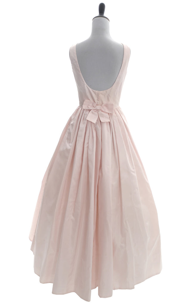 Vintage Dress Clifton Wilhite Ballgown pink