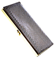 Vintage Wallet in Genuine Cobra snakeskin - Dressing Vintage