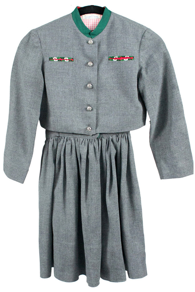 Gray countess Nemes vintage girls jumper