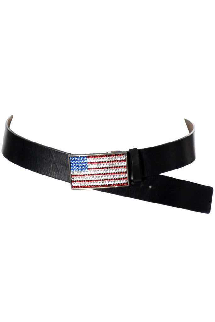 USA flag vintage Nieman Marcus belt