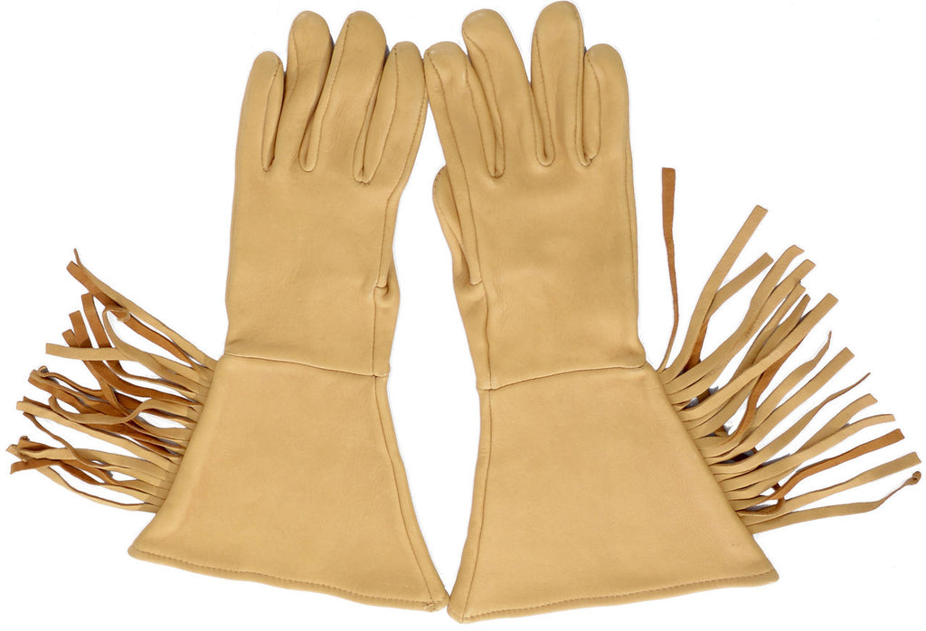 Vintage Motorcycle gloves fringe cowgirl