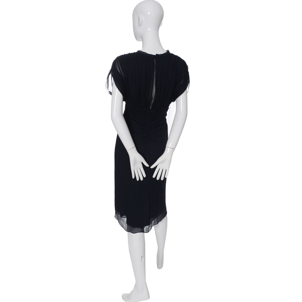 Diane Von Furstenberg Silk Chiffon Dress Authentic