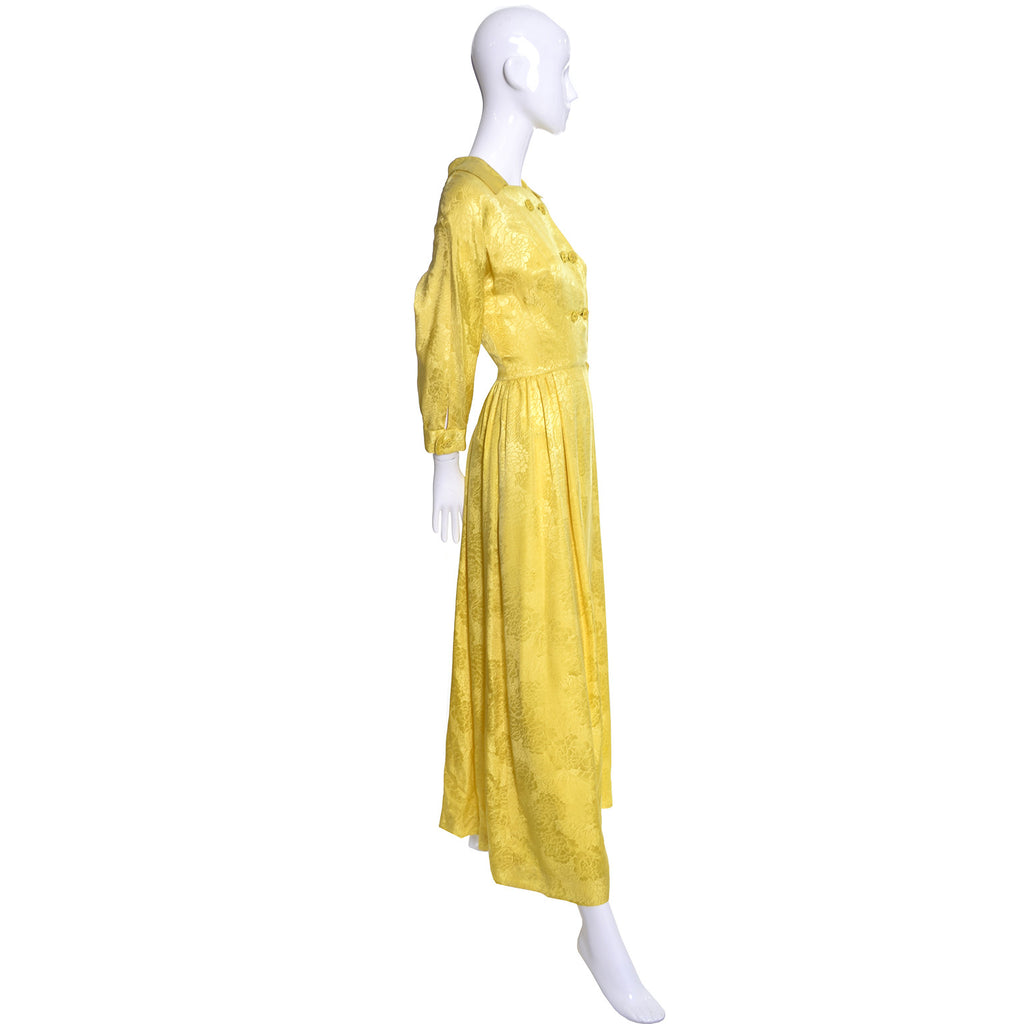 Silk Dynasty Vintage Hostess Gown Robe