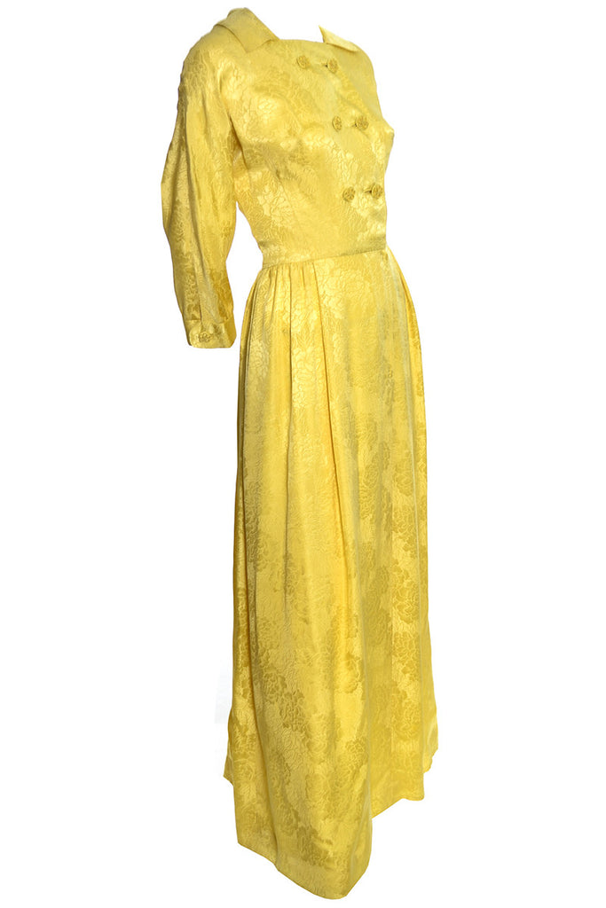 Vintage Dynasty Robe Silk Hostess Gown