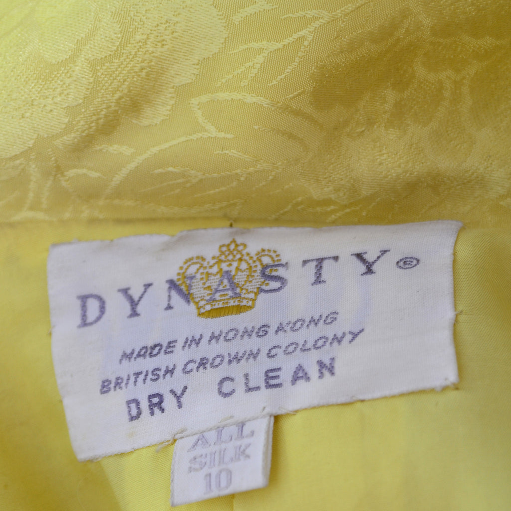 Dynasty Vintage Hostess Gown Robe Hong Kong