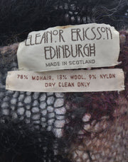 Eleanor Ericsson Edinburgh Scotland Mohair Vintage Sweater - Dressing Vintage