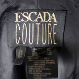 Escada Couture size 8 vintage skirt suit