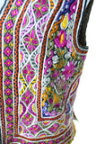 hand embroidered vest vintage ethnic clothing