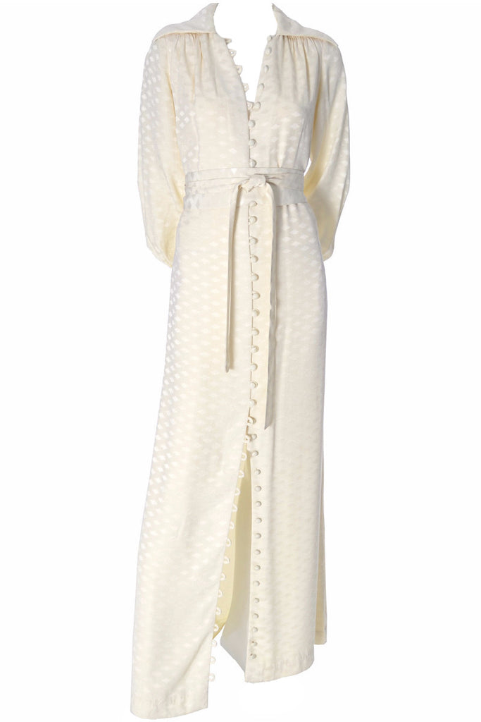 Eva Gabor Estevez Vintage Ivory Dress