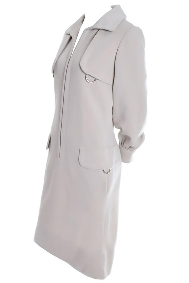 Geoffrey Beene Trenchcoat Vintage Dress from the late 1960's or early 1970s