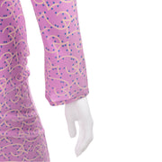 1998 Gianni Versace Couture Vintage Lavender Silk Dress Documented