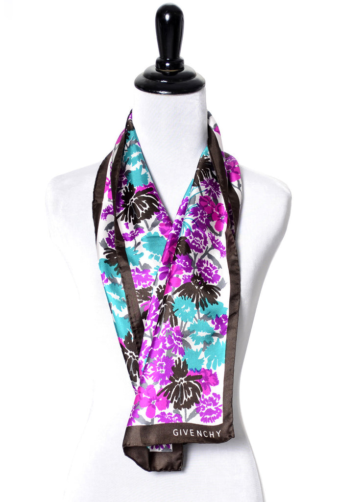 Silk collectable Givenchy scarf