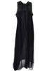 Gossard Artemis Black Peignoir Nightgown Robe