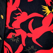 Matisse Print Hanae Mori 1980's Silk Dress