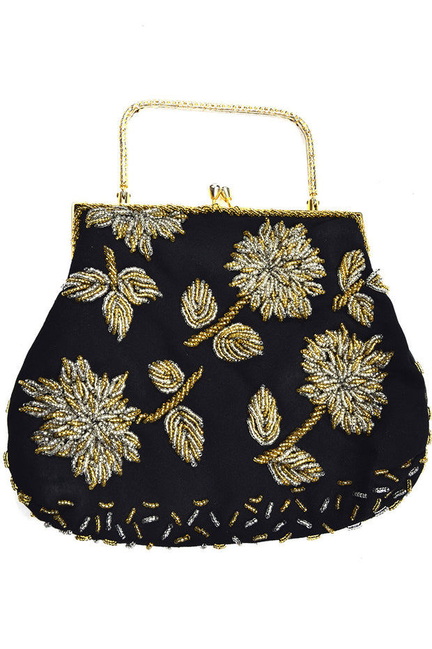 1960s Hong Kong Vintage beaded handbag
