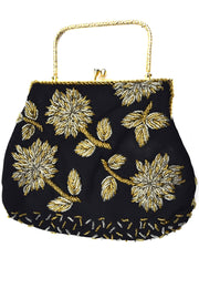 1960s Hong Kong Beaded Vintage Handbag Evening Bag