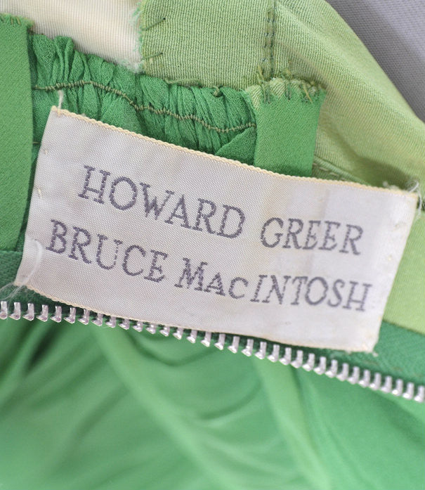 Bruce MacIntosh Howard Greer vintage dress
