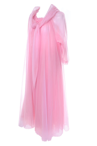 Pink Vintage Peignoir Set