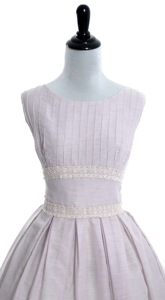vintage dress 1950s J Harlan purple