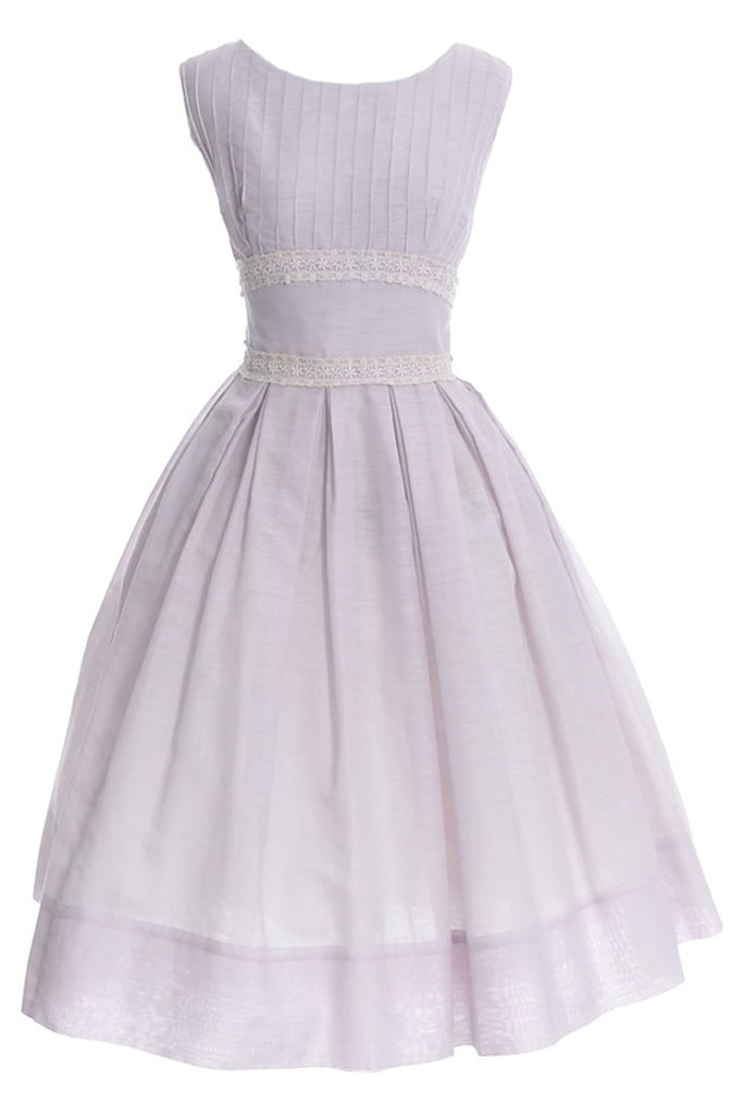 J. Harlan purple 1950s sundress