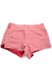 Jantzen vintage shorts red gingham