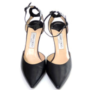 Vintage Jimmy Choo ankle strap shoes