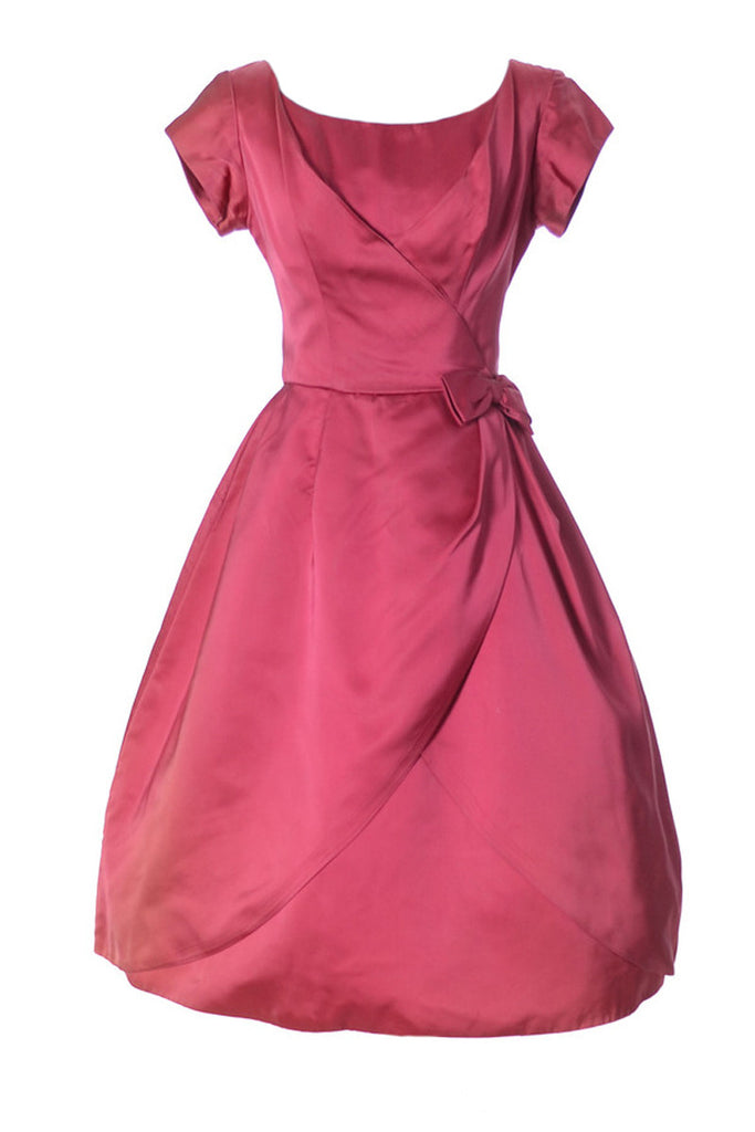 Vintage pink dress Kay Selig
