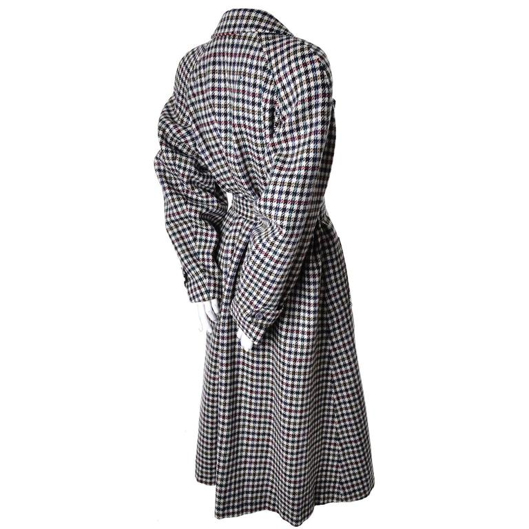 Size 8/10 houndstooth vintage Kenzo fall coat