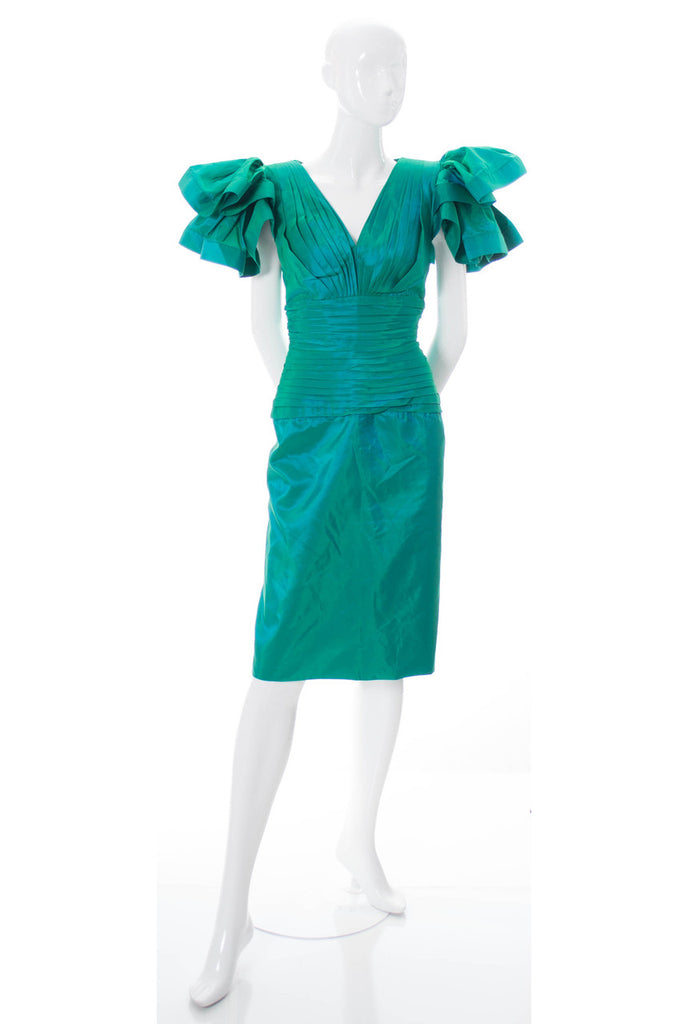 Vintage dress 1980s Lillie Rubin