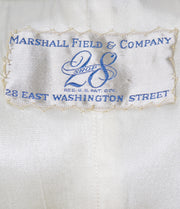 Vintage 1940s black and white dress from Marshall Field with jacket - Dressing Vintage