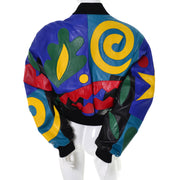 Michael Hoban North Beach Vintage Abstract Jacket