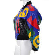 Michael Hoban Primary Color Bomber Jacket