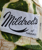 Mildred's Hawaii vintage dress batik