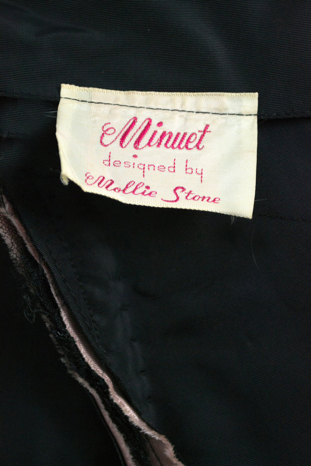 Mollie Stone Minuet designer dreamy tulle 1950s vintage dress SOLD - Dressing Vintage