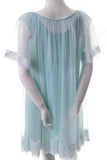 Miss Elaine Vintage 60s Peignoir Nightgown robe