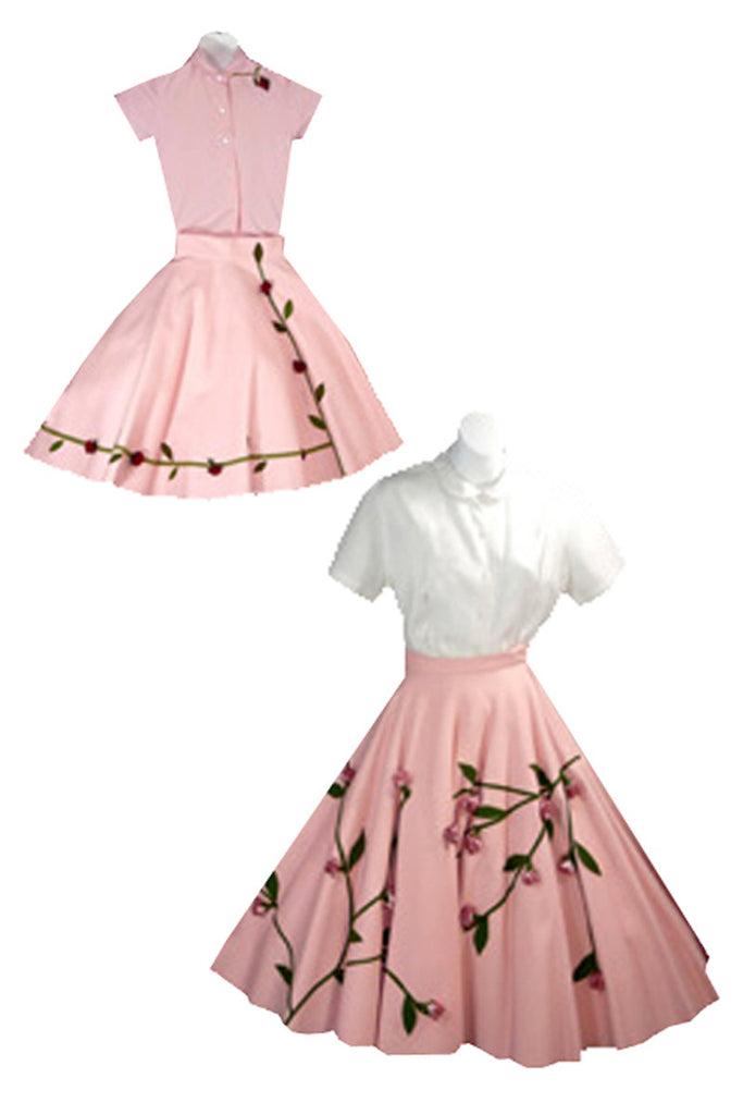 Vintage mommy and me outfits 1950s pink