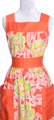 Nalii Honolulu vintage maxi dress tropical bright