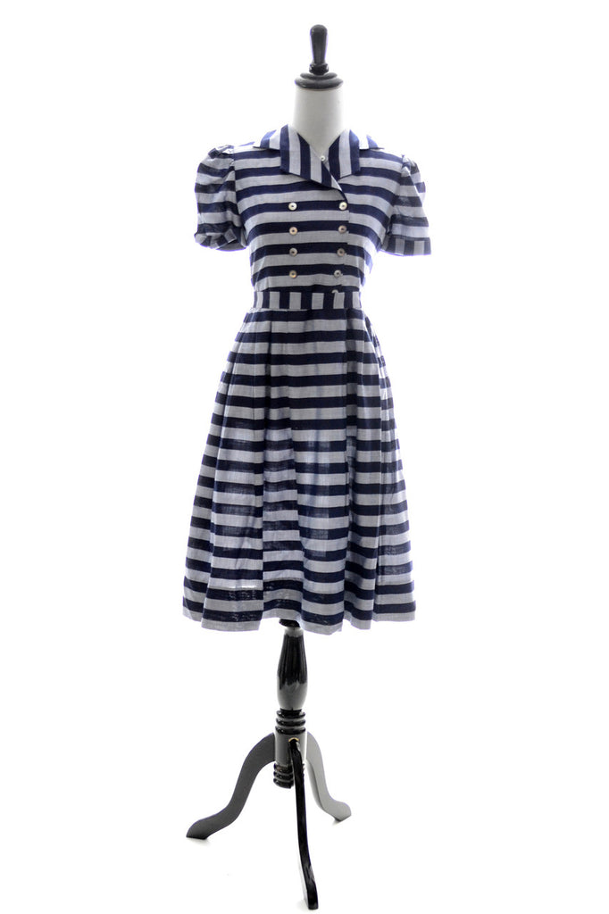 Nathan Krauskopf vintage child's dress 1950s childrens clothing