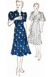 New York Pattern 1308 vintage 1930s dress pattern